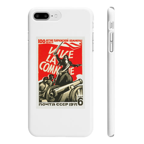 """Viva La Commune"" iPhone 7/8 Plus Case"
