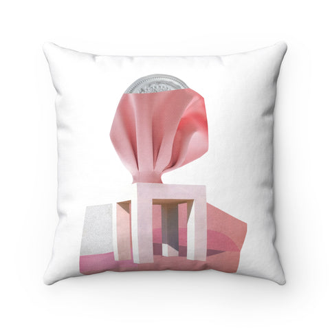 ORNATA pink pillow