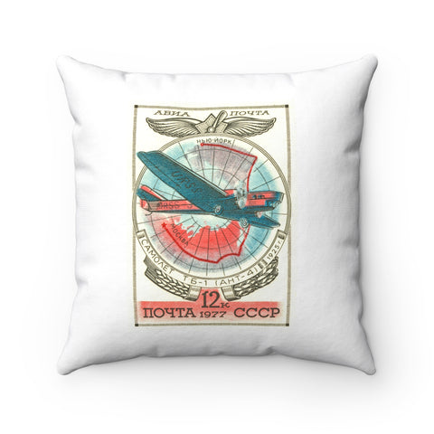 """Tupolev TB-1 Airplane"" Pillow"