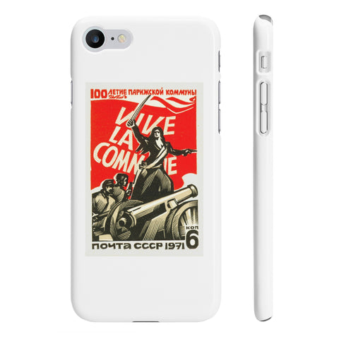 """Viva La Commune"" iPhone 7/8 Case"