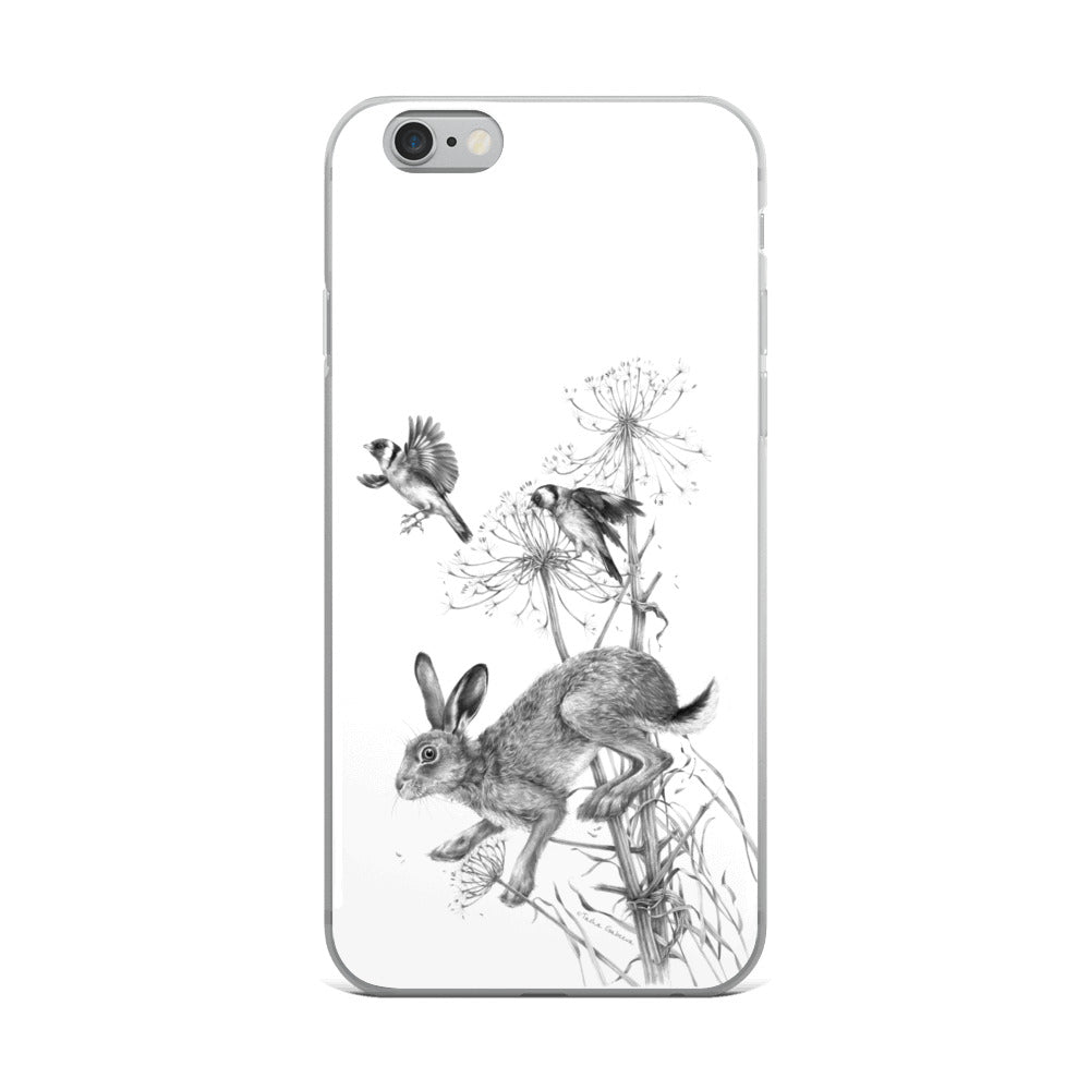 Tasha Gabeeva Hare iPhone Case
