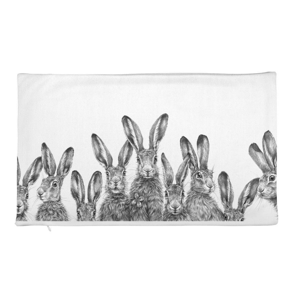 The Great Hare Story Premium Pillow Case only