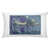 """The first Russian passenger aircraft ANT-9"" Rectangular Pillow"