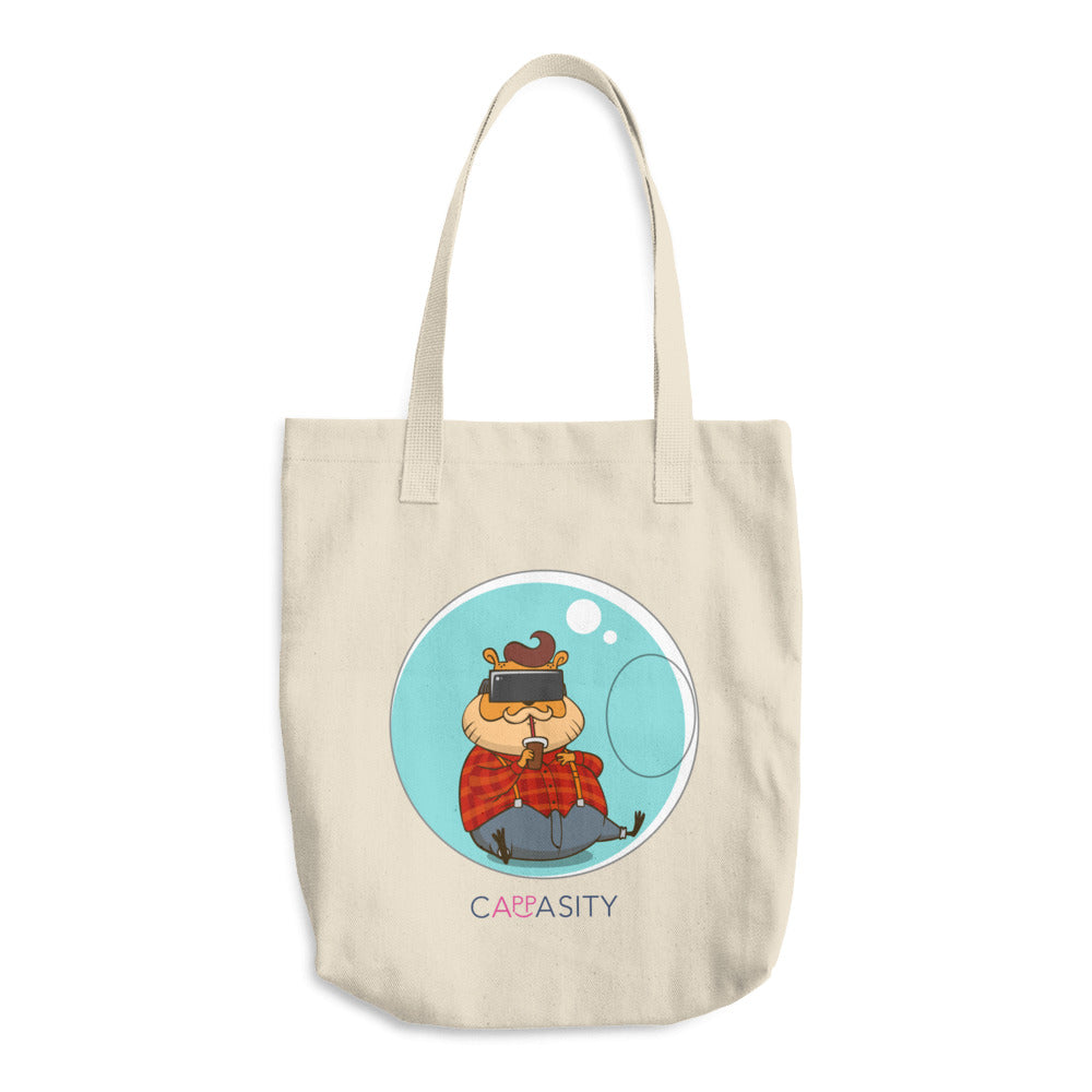 HappyFox Cotton Tote Bag
