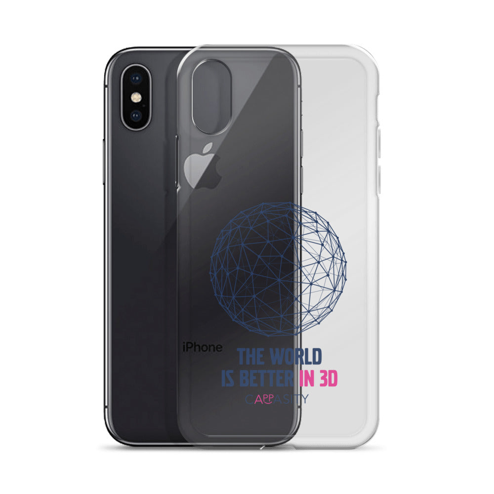 3D WORLD iPhone Case