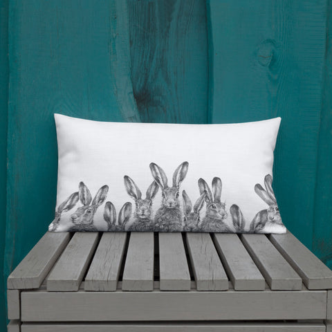 Tasha Gabeeva ~ The Great Hare Story Premium Pillow