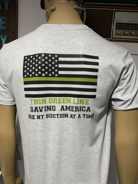 #RTLife Thin Green Line Tee~LIMITED TIME OFFER!! LIMITED QUANTITY AND STYLES.
