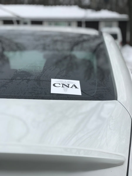 CNA Bumper sticker