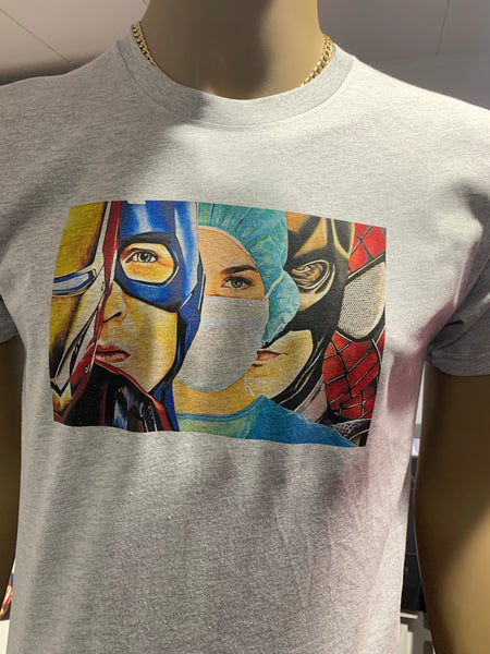 #Superhero Tees (Male & Female Versions)