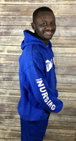 Royal Blue Unisex Team Nursing Pullover Hoody