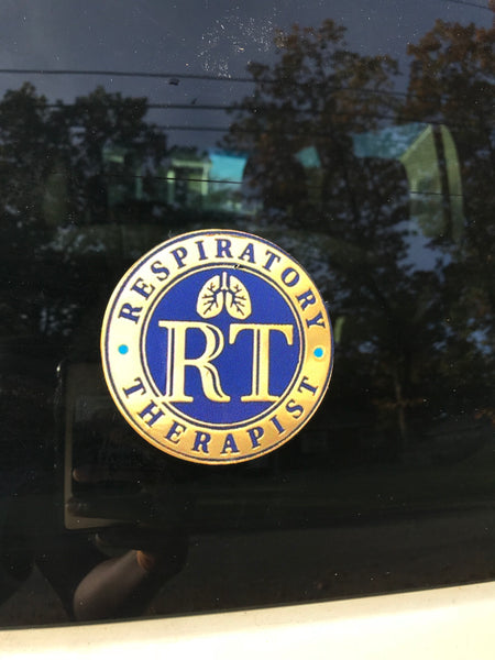 Respiratory Therapist Round Decal