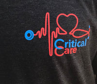 Critical Care Next-Level Long Sleeve  T-Shirt-Vintage Black