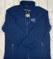 "RT ""Cyanotic Blue"" Fleece Jacket/Vest"