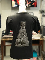 Laboratory Next Level Tee Vneck - Black
