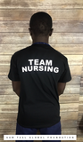 Team Nursing Black short sleeve-Unisex