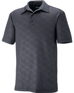 Ash City - North End Sport Red Maze Performance Stretch Embossed Print Polo