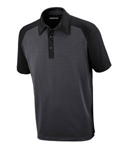 Ash City - North End Sport Red Men's Symmetry UTK cool.logik™ Coffee Performance Polo