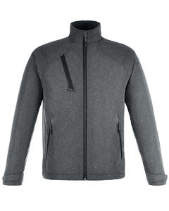 Ash City - North End Men's Sport Red Frequency Lightweight Mélange Jacket