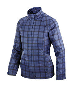 Ash City - North End Ladies' Sport Blue Locale Lightweight City Plaid Jacket