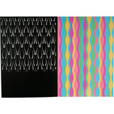 Laser Pattern Notebook