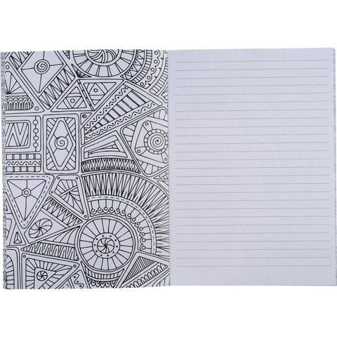 Doodle Adult Coloring Notebook