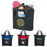 Heavy Duty Zippered Business Tote