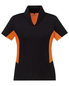 Ash City - North End Sport Red Ladies Rotate UTK cool.logik™ Quick Dry Performance Polo