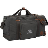 "Alternative® 22"" Deluxe Cotton Weekender Duffel"