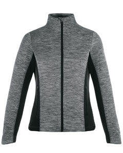 Ash City - North End Ladies' Shuffle Performance Mélange Interlock Jacket