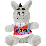 "6"" Plush Donkey with Shirt"