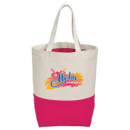10 oz. Cotton Color Pop Tote – Promosave 3a6e13246c1f5
