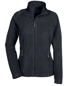 North End Ladies' Excursion Trail Fabric-Block Fleece Jacket