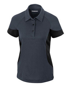 North End Sport Red Ladies' Refresh UTK cool.logik™ Coffee Performance Mélange Jersey Polo