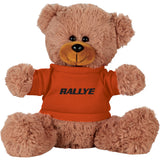 "8"" Sitting Plush Bear with Shirt"
