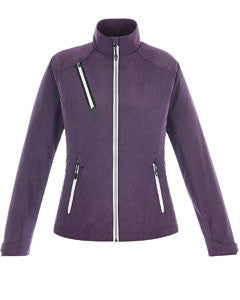 Ash City - North End Ladies' Sport Red Frequency Lightweight Mélange Jacket