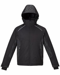 JACKET: North End Men's & Ladies Linear Insulated Jacket w/ Print