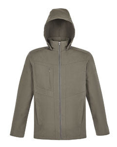 SOFT SHELL: North End Men's & Ladies Forecast Three-Layer Light Travel