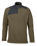 North End Men's Excursion Trail Fabric-Block Fleece Quarter-Zip