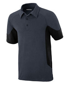 North End Sport Red Men's Refresh UTK cool.logik™ Coffee Performance Mélange Jersey Polo