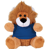 "6"" Plush Lion with Shirt"