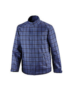Ash City - North End Men's Sport Blue Locale Lightweight City Plaid Jacket