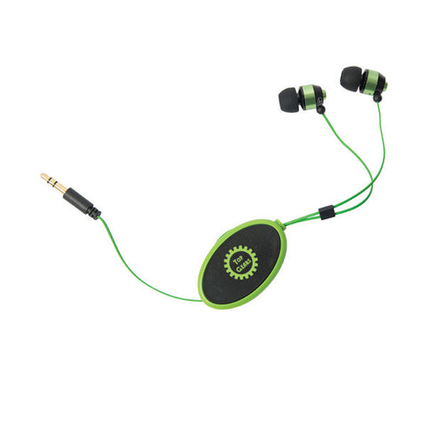 Bathurst Street Retractable Earphones