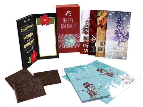 Chocolates - Trio Holiday Card Box Set (6 pk)