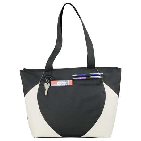 Asher Zippered Meeting Tote – Promosave 643d52560ccf9