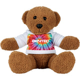 "8"" Plush Rag Bear with Shirt"