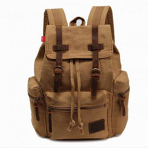 Backpack For Student Teenager School Back Pack Women's Casual Daypacks Men Canvas Laptop Backpack Girls Female canvas backpack