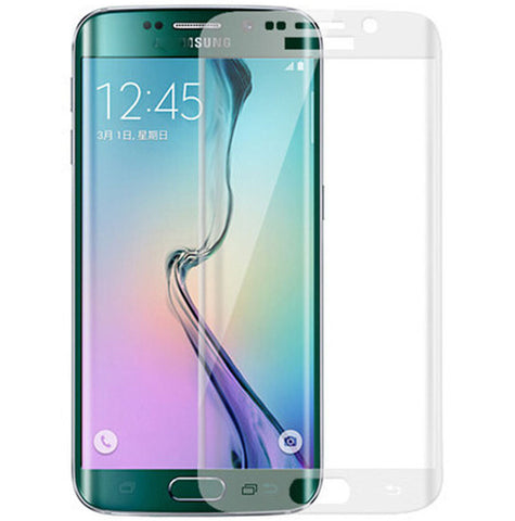 Clear Curved Tempered Glass Screen Protector For Samsung Galaxy S6 Edge G925 G925F G925A Full Cover Translucent Protective Glass