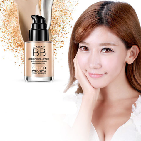 2PCS Cover Skin Care Blemish Balm Waterproof Moisturizing BB Cream 30ml Makeup Cosmetics Foundation Face Care