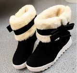 2016 autumn winter boots in Europe and the knight boots but knee boots female low with snow boots women boots