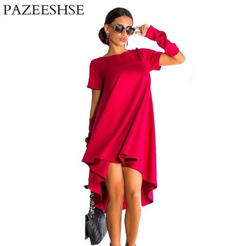 2016 New Brand Midi Women Dress Summer Style Tunic Boho Kylie Jenner Ladies Dresses Mavodovama Red Party Woman Dress Ukraine